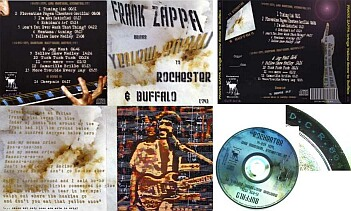 Frank Zappa Brings Yellow Snow To Rochester U0026 Buffalo (CD)
