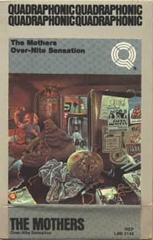 Frank Zappa Overnite Sensation Album Cover 9516 Usbdata